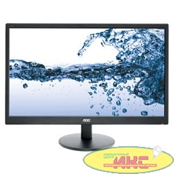 "LCD AOC 21.5"" E2270SWN черный {TN 1920х1080 LED 5ms 16:9 90/65 20M:1 200cd D-Sub}"