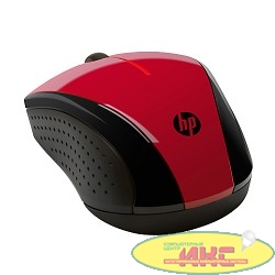HP X3000 [N4G65AA] Wireless Mouse USB red/black