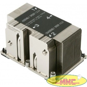 Supermicro SNK-P0068PSC - 2U Passive CPU Heat Sink for LGA 3647, 108x78x64