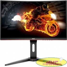 "LCD AOC 24"" C24G1 Black-Red {VA изогнутый LED 1920x1080 1ms 144Hz 16:9 178°/178° 250cd HDMI DisplayPort}"