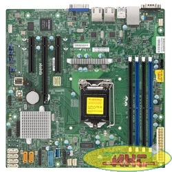 Supermicro MBD-X11SSL-F-O, Single SKT, Intel C232 PCH chipset, 6 x SATA3, 2 x GbE LAN, 2 x SATA-DOM, dedicated IPMI, mATX - Retail