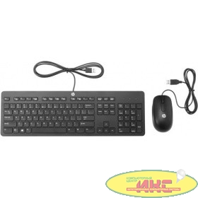 HP [T6T83AA] Combo Slim Keyboard/Mouse USB black
