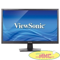 "LCD ViewSonic 23.6"" VA2407H черный {TN LED, 1920x1080, 5 ms, 170°/160°, 250 cd/m, 20M:1, D-Sub, HDMI, DisplayPort}"