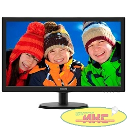 "LCD PHILIPS 21.5"" 223V5LSB (00/01) черный {TN LED 1920x1080 5ms 170°/160° 16:9 10M:1 250cd D-Sub DVI}"