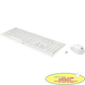 HP C2710 [M7P30AA] Wireless Combo Keyboard/Mouse USB white