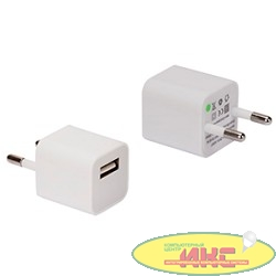 СЗУ Continent  1A/1*USB , белый , ZN10-193WT /OEM